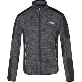 Regatta Coladane Fleece Jacket Men ash/black